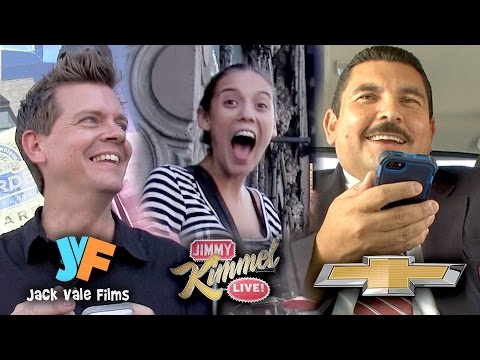 Social Media Prank Ft. Guillermo and Jack Vale on Jimmy Kimmel Live!