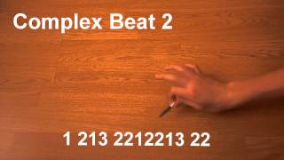 Pen Tapping - Complex Beat 2 - #6