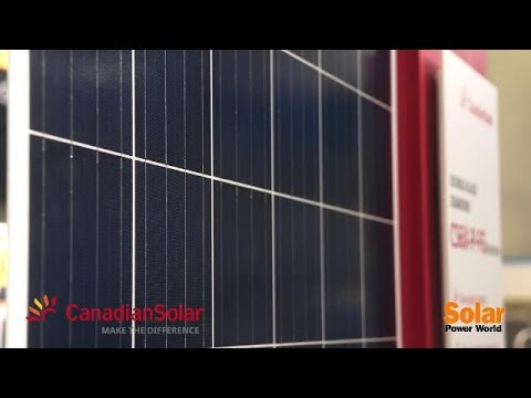 Canadian Solar introduces new double-glass module