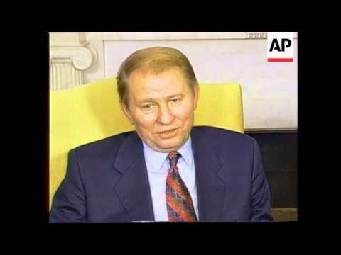 USA: WASHINGTON: UKRAINIAN PRESIDENT LEONID KUCHMA VISIT