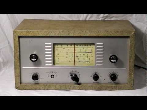 The Heathkit AR-3 Communications Receiver