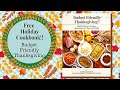 Budget Friendly Thanksgiving Cookbook release video