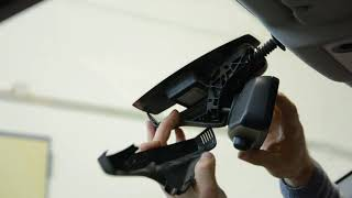 How to remove the rear view mirror BMW E60 5 Series