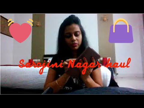Sarojini nagar haul| under rs.200|Delhi shopping