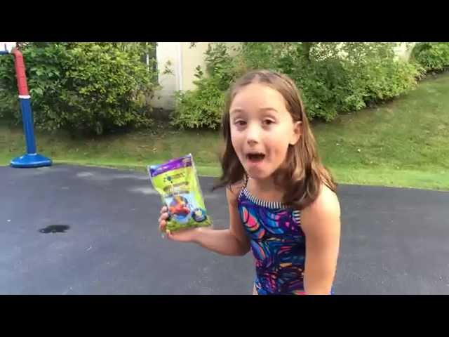 ZORBZ Self Sealing Water Balloons Demo