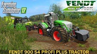 Farming Simulator 17 FENDT 900 S4 PROFI PLUS TRACTOR