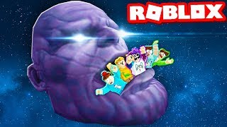 DON'T GET EATEN BY THANOS IN ROBLOX! (Thanos Eats Everything)