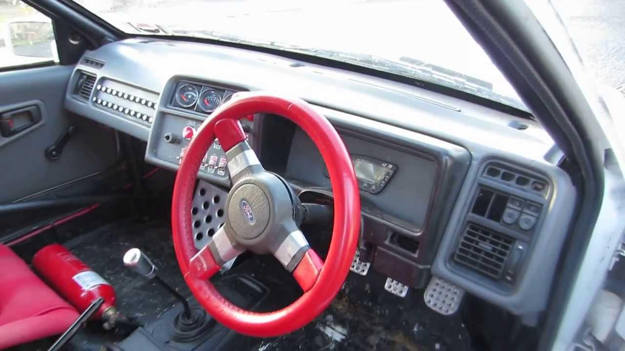 Ford Car Interior  Rhd