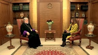 OTV Interview with His Holiness Aram I on 1 January 2017