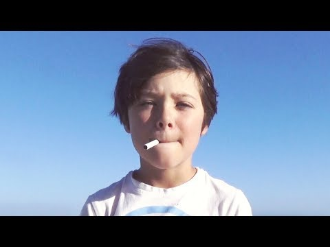 Kid Smoking Experiment video