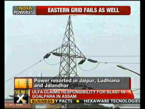 Grid failure: Narendra Modi takes potshots at