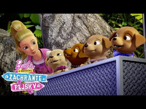Upoutávka Barbie a sestřičky Zachraňte pejsky | Barbie