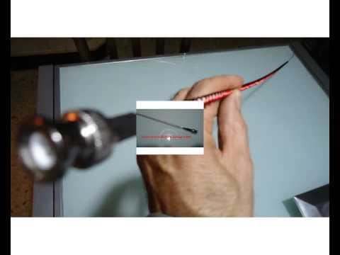 Antena casera de onda corta para escaners portatiles.