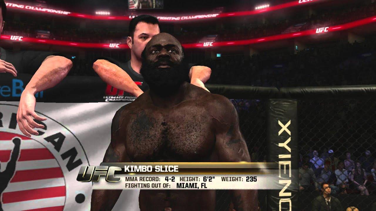 Kimbo slice knocked out