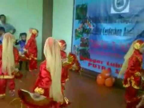 Tari Anak Tk - Nazhifa Menari   Ra An-nawawi Cibinong video