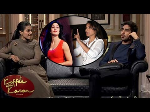 Kajol & Ayan Bitch About Katrina & Rani On Koffee With Karan Season 4 16th March 2014 Episode video