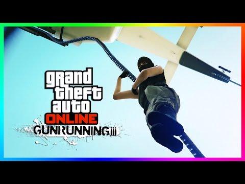 GTA ONLINE GUNRUNNING DLC TRAILER, $8,000,000 VEHICLES, ARMORED GTA 5 SUPER CARS & RAPPELLING! (QNA)