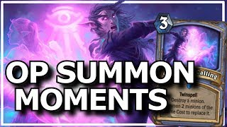 Hearthstone - Best of OP Summon Moments