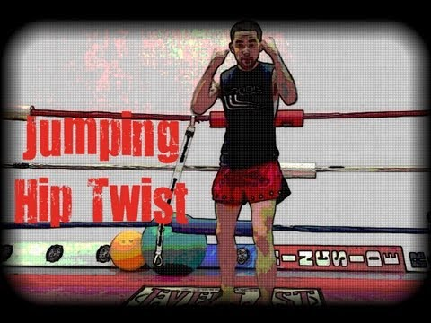 Muay Thai Drill - Jumping Hip Twist Image 1