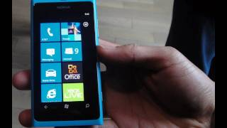 Nokia Lumia 800 Hands-on Demo - BWOne.com