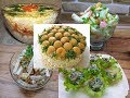 5 салатов на Новый ГОД 2019