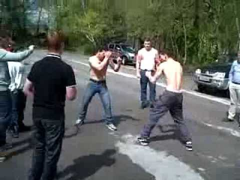 Nelson vs miley BAREKNUCKLE FIGHT 2013 Image 1