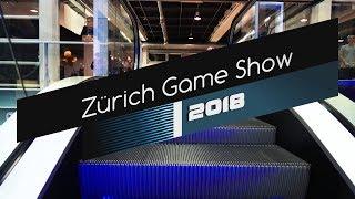 Zurich Game Show 2018 - Walktrough on Friday