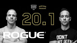 Rogue Iron Game | 20.1 CrossFit Open Announcement