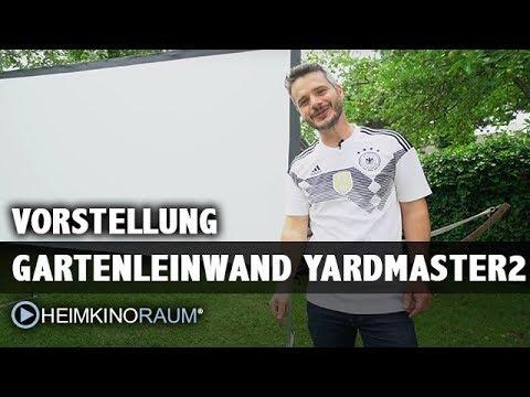 Vorstellung Public Viewing / Garten Leinwand Elite Screens Yardmaster 2