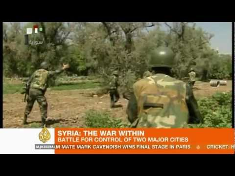 Syria: Fighting rages in Damascus and Aleppo