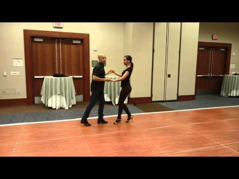 Troy Anthony y Gabriela Caminos - HSC.16 On1 Salsa Fundamentals