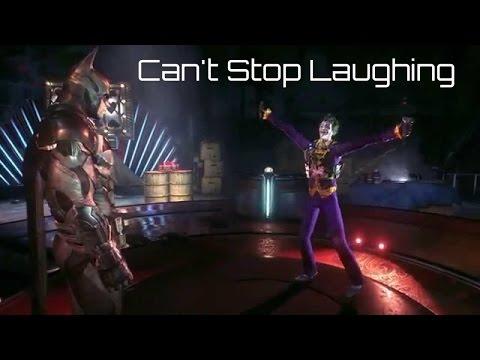 Arkham Joker Laugh Stop Laughing The Joker