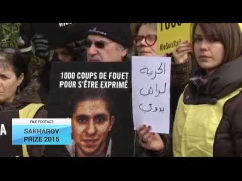 Sakharov Prize 2015: Saudi blogger Raif Badawi wins human rights award