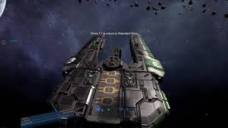X4 Foundations #013 [1.30] [HD] - Colossus Vanguard Capital Ship First Look