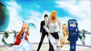 [MMD] Bad El Shaddai 恋天使マイケル (michael)