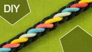 How to Make a 8-Strand Round Braid