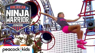 [FULL CLIP] AMERICAN NINJA WARRIOR JUNIOR | EPIC GIRL POWER RACING
