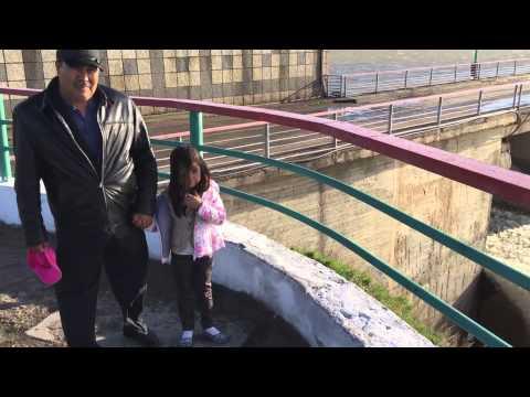 Сброс воды на Сергеевском водохранилище
