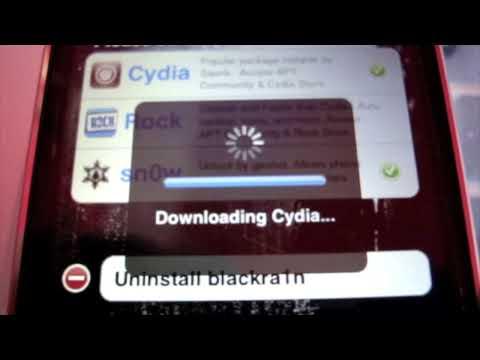 Activación y desbloqueo de iPhone 3GS  con firmware 3.1.2 usando blackra1n y blacksn0w