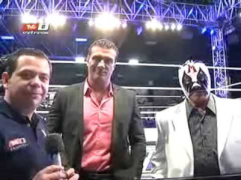 Tercera Caída en el Wrestlemania Fan Axxess (06-04-2012) Parte 2