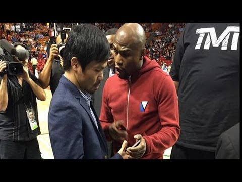BREAKING NEWS! BOTH MAYWEATHER & PACQUIAO SIGN CONTRACT, FIGHT TO BE ANNOUNCED BY FRIDAY