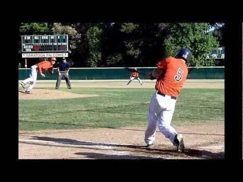 Brady Horn Baseball Saratoga High School 2012