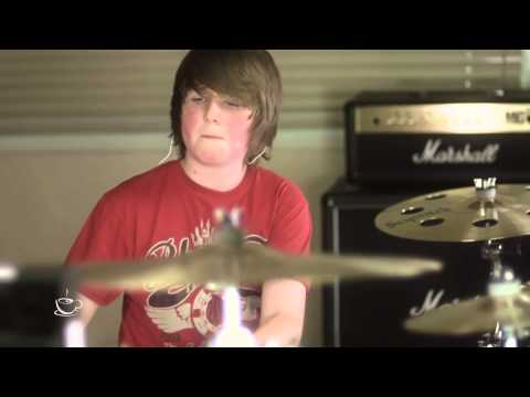 12 Year Old Charlie Emmons System Of A Down, Chop Suey Drum Cover video