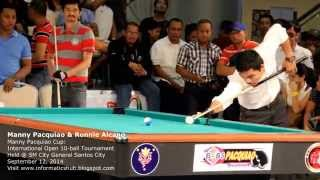 Manny Pacquiao and Ronnie Alcano VS Taiwan Billiard Star Player