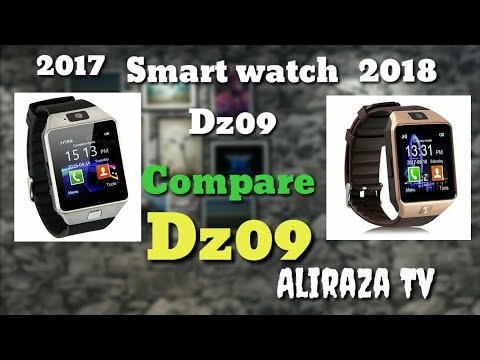 Smart watch dz09 2017 compare 2018 smart watch dz09 review by Aliraza Tv dz09 specifications 2018