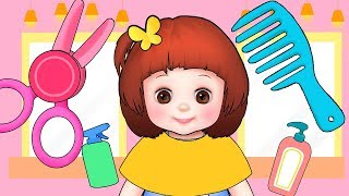 Baby Doli hair shop  play and baby doll toys