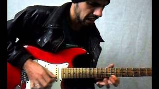 Wonderful Slippery Thing - Guthrie Govan(Jam) - Sergio Paganini