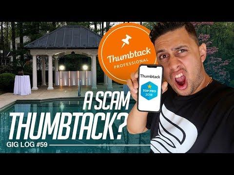 DJ GIG LOG: Spent $200 on THUMBTACK DJ Leads? Is thumbtack a SCAM?