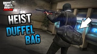 GTA 5 - How To Get The DUFFEL BAG After Patch 1.34 (RARE)