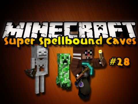 "Minecraft Super Spellbound Caves Ep. 28 - ""Out of the Crypts!"" (HD)"